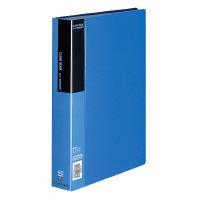 【コクヨ】 クリヤーブック A4縦 固定式80枚ポケット 青ラ-B80B 入数:1 ★お得な10個パック