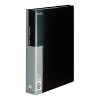 【コクヨ】 クリヤーブック A4縦 固定式80枚ポケット 黒ラ-B80D 入数:1 ★お得な10個パック