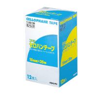 【コクヨ】 セロハンテープ(お徳用Eパック) 15mm×35m 12巻入りT-SE15N 入数:1 ★お得な10個パック