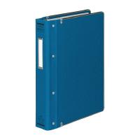 【コクヨ】 バインダーMP(カラー布貼りタイプ) B5縦 26穴 縁金付約200枚収容 青ハ-120B 入数:1 ★お得な10個パック