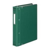 【コクヨ】 バインダーMP(カラー布貼りタイプ) B5縦 26穴 縁金付約200枚収容 緑ハ-120G 入数:1 ★お得な10個パック