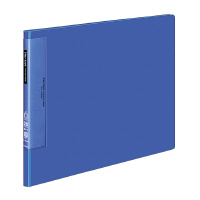 【コクヨ】 クリヤーブック(ウェーブカットポケット) B4横 固定式20枚ポケット 青ラ-T569B 入数:1 ★お得な10個パック