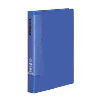 【コクヨ】 クリヤーブック(ウェーブカットポケット) A4縦 固定式60枚ポケット 青ラ-T585B 入数:1 ★お得な10個パック