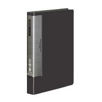 【コクヨ】 クリヤーブック(ウェーブカットポケット) A4縦 固定式60枚ポケット 濃灰ラ-T585DM 入数:1 ★お得な10個パック
