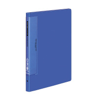【コクヨ】 クリヤーブック(ウェーブカットポケット) A4縦 替紙式12枚ポケット30穴 青ラ-T710B 入数:1 ★お得な10個パック