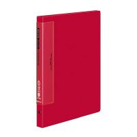 【コクヨ】 クリヤーブック(ウェーブカットポケット) A4縦 替紙式17枚ポケット30穴 赤ラ-T720R 入数:1 ★お得な10個パック