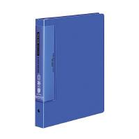 【コクヨ】 クリヤーブック(ウェーブカットポケット) B5縦 替紙式25枚ポケット26穴 青ラ-T731B 入数:1 ★お得な10個パック