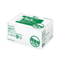 【コクヨ】 タックメモ(超徳用・付箋タイプ) 52×14.5mm 4色 100枚×50メ-3015 入数:1 ★お得な10個パック