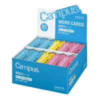 【コクヨ】 キャンパス単語カード(詰め合わせ) 中 青・ピンク各12冊 黄6冊 計30冊タン-101ツメ 入数:1 ★お得な10個パック