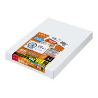 【コクヨ】 インクジェットプリンタ用名刺カード クリアカット 両面印刷用A4 100枚入KJ-VC115 入数:1 ★お得な10個パック