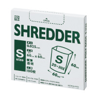 【コクヨ】 シュレッダー用ゴミ袋 100枚 Sサイズ 25~30LR2KPS-PF60 入数:1 ★お得な10個パック