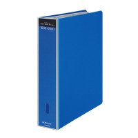 【コクヨ】 ガバット名刺ホルダー(替紙式) A4縦 2穴 青メイ-GT680B 入数:1 ★お得な10個パック