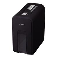 【コクヨ】 デスクサイドシュレッダー(RELISH) A4 クロスカット ナイトブラックKPS-X80D 入数:1 ★お得な10個パック
