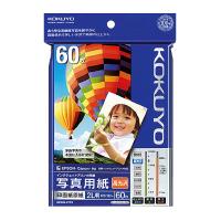 【コクヨ】 インクジェットプリンタ用紙 写真用紙(高光沢) 2L判 60枚KJ-D122L-60 入数:1 ★お得な10個パック