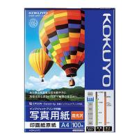 【コクヨ】 インクジェットプリンタ用紙 写真用紙(高光沢) A4 100枚KJ-D12A4-100 入数:1 ★お得な10個パック