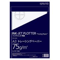 【コクヨ】 インクジェットプロッター用紙(トレペ) A3 75g/m2 100枚 セ-PIT78N 入数:1 ★お得な10個パック★