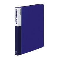 【コクヨ】 フォトファイル(A4サイズ) A4縦 30穴ポケット台紙10枚付 青ア-M151NB 入数:1 ★お得な10個パック