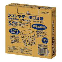 【コクヨ】 シュレッダー用ゴミ袋S 静電気抑制・エア抜き加工 100枚入り KPS-PFS60 入数:1 ★お得な10個パック★