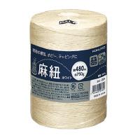 【コクヨ】 麻紐(ホワイト・ホビー向け) (ホワイト)チーズ巻き 480m ホヒ-35W 入数:1 ★お得な10個パック★