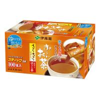 【伊藤園】 お~いお茶 さらさらほうじ茶 0.8g×100本 12306 入数:1 ★お得な10個パック★