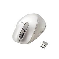 ホワイト 入数:1 【エレコム】 無線BlueLEDマウス5ボタン ★お得な10個パック★ M-XGM10DBWH
