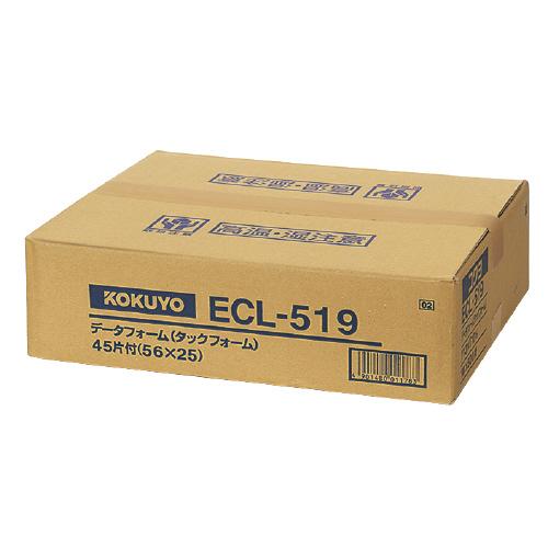 JANコード:4901480011783 コクヨ連続伝票用紙 タックフォーム 500枚 《週末限定タイムセール》 Y13XT10 お得な10個パック 最新 6 3 45片ECL-519