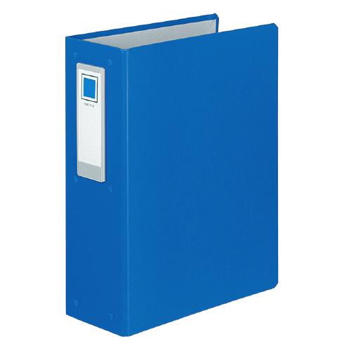 JANコード:4901480032184 コクヨ 驚きの価格が実現 チューブファイル ロングボディ 4穴 80ミリとじ A4縦 青 人気の定番 フ-L684NB