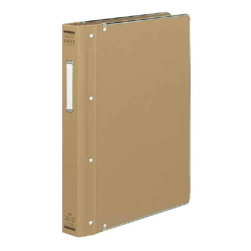 JANコード:4901480030197 コクヨ バインダーMP 激安特価品 布貼りタイプ 30穴 ハ-123 本物 A4縦 縁金付約200枚収容