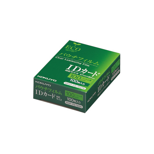 JANコード:4901480774695 コクヨパウチフィルム 返品不可 豊富な品 100枚入MSP-F5782N IDカード用