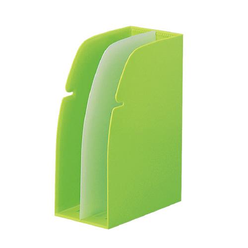 JANコード:4903419813628 リヒトラブ ホルダースタンド メーカー公式 W106×D204×H274mm G1630-6 お得な10個パック 黄緑 値下げ