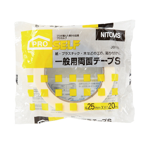 JANコード:4904140767105 ニトムズ 一般用両面テープ お得な10個パック 保障 25mm×20m J0710 ◆高品質