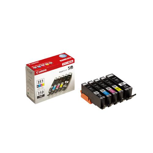 JANコード:4960999918501 キヤノンキヤノン対応インクカートリッジ BCI-351 350 5MP お得な10個パック 5MPBCI-351 日本 通信販売