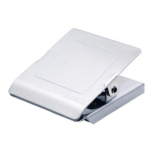 JANコード:4970116045447 お金を節約 ソニック ステンレスマグネットクリップ L CP-1093 保持枚数:コピー用紙約120枚 祝日 お得な10個パック