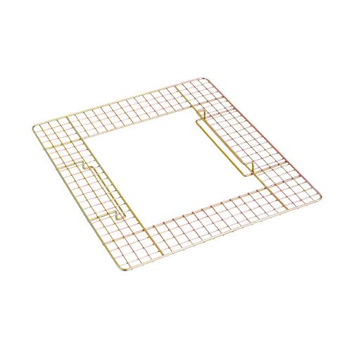 テラモト 吸殻入れ(現場用) ワイヤーテーブル SS-258-500-0 ★お得な10個パック
