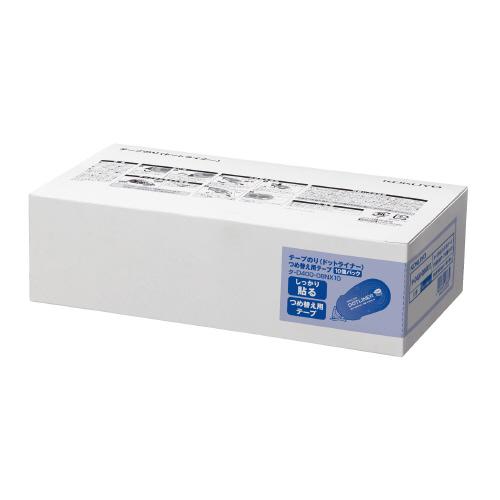 JANコード:4901480228839 コクヨ テープのり ドットライナー タ-D400-08NX10 つめ替え用テープ 10個パック 人気上昇中 メーカー在庫限り品