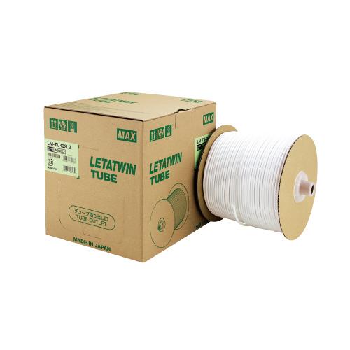 直輸入品激安 JANコード:4902870845438 マックス ドラム式丸チューブ 250m巻 買取 LM-TU432L2 お得な10個パック 内径Φ3.2mm