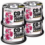 三菱ケミカルメディア CD-R 700MB SR80PP50C 200枚★お得な10個パック