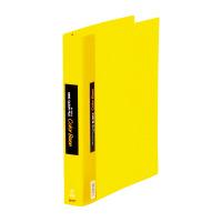 【キングジム】 カラーベース差替式 黄 A4縦 背幅40mm 30穴 139Wキイ 入数:1 ★お得な10個パック★