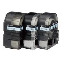 【キングジム】 テプラPROテープカートリッジ ヘッドクリーニングテープ 36mm幅 SR36C 入数:1 ★お得な10個パック★