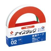 【ニチバン】 ナイスタックブンボックス 再生紙両面テープ20mmx20m 6巻入 NWBB-20 入数:1 ★お得な10個パック★