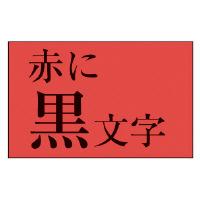 【カシオ計算機】 ネームランド テープカートリッジ スタンダードテープ 赤に黒文字18mm幅 XR-18RD 入数:1 ★お得な10個パック★