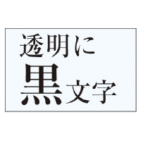 【カシオ計算機】 ネームランド テープカートリッジ 透明テープ 透明に黒文字18mm幅 XR-18X 入数:1 ★お得な10個パック★
