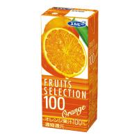 【エルビー】 フルーツセレクション オレンジ 200ml×24本 040299 入数:1 ★お得な10個パック★