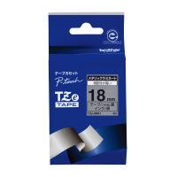 【ブラザー】 ピータッチ用TZeテープカセット 銀つや消しに黒文字18mm幅 TZE-M941 入数:1 ★お得な10個パック★