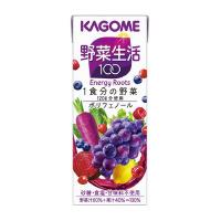 【カゴメ】 野菜生活100 ベリーサラダ 200ml×24本 7551 入数:1 ★お得な10個パック★