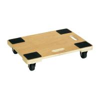 【アステージ】 木製平台車 100Kg耐荷重 WHD-3 入数:1 ★お得な10個パック★