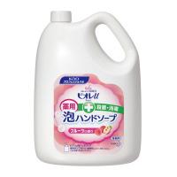 【花王】 ビオレU 泡ハンドソープ フルーツの香り 業務用 4L 511508 入数:1 ★お得な10個パック★