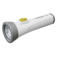 【Panasonic】 乾電池エボルタ付き LED懐中電灯 W70×D70×H195mm BF-158BK-W 入数:1 ★お得な10個パック★