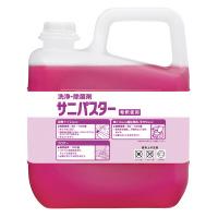 【サラヤ】 洗浄・除菌剤 サニパスター 5kg31886 入数:1 ★お得な10個パック