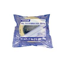 【寺岡製作所】 ビニールテープ 透明艶消し 50mm×30m 312 入数:1 ★お得な10個パック★